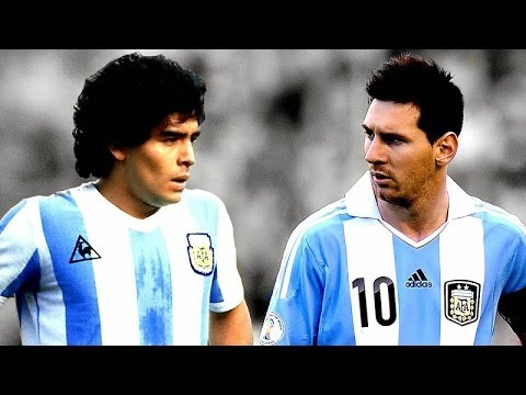 Messi vs  Maradona – Katso video