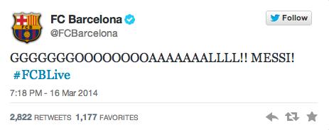 Puoliaika.com Lionel Messi Twitter