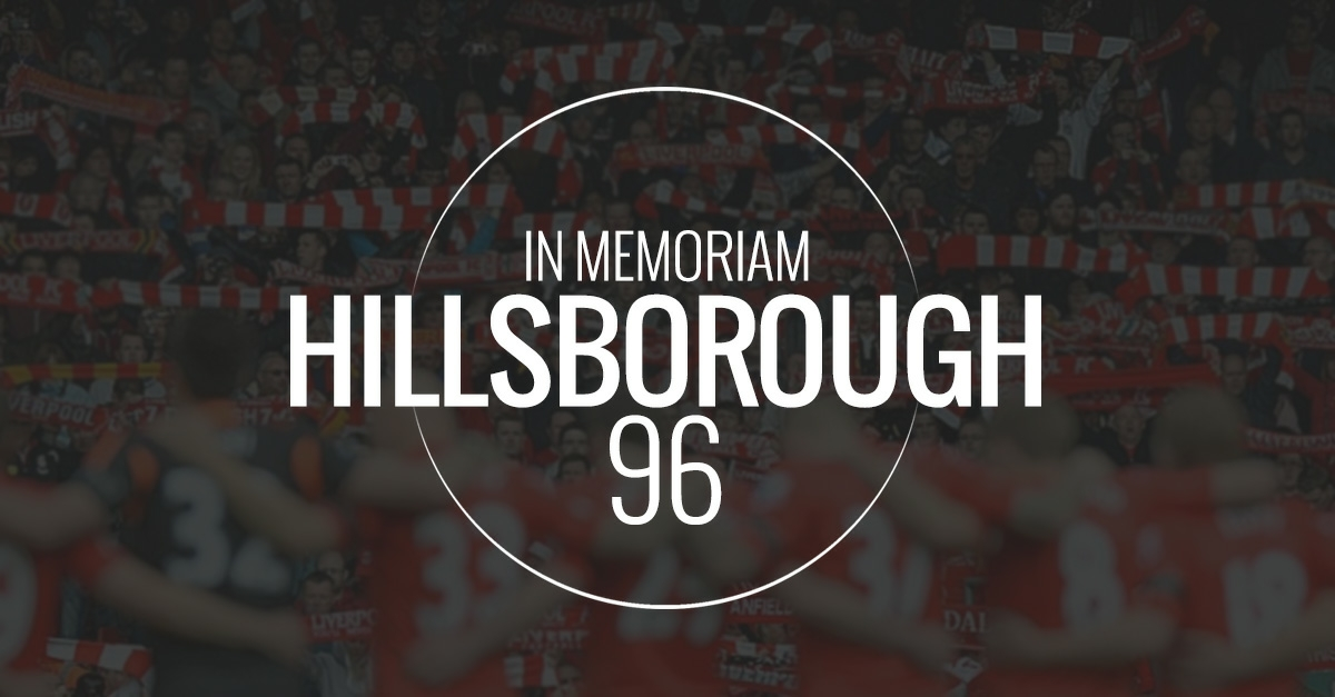 Hillsborough In Memoriam 96
