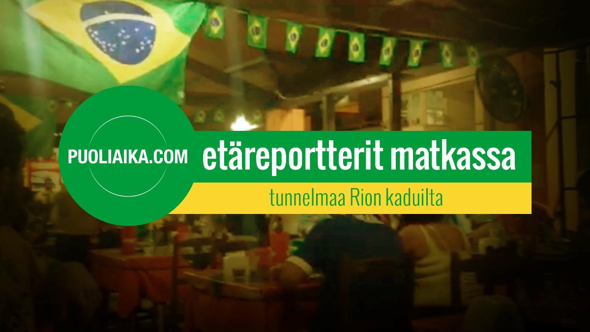 Puoliaika.com - Etäreportterit matkassa: Rion kadut