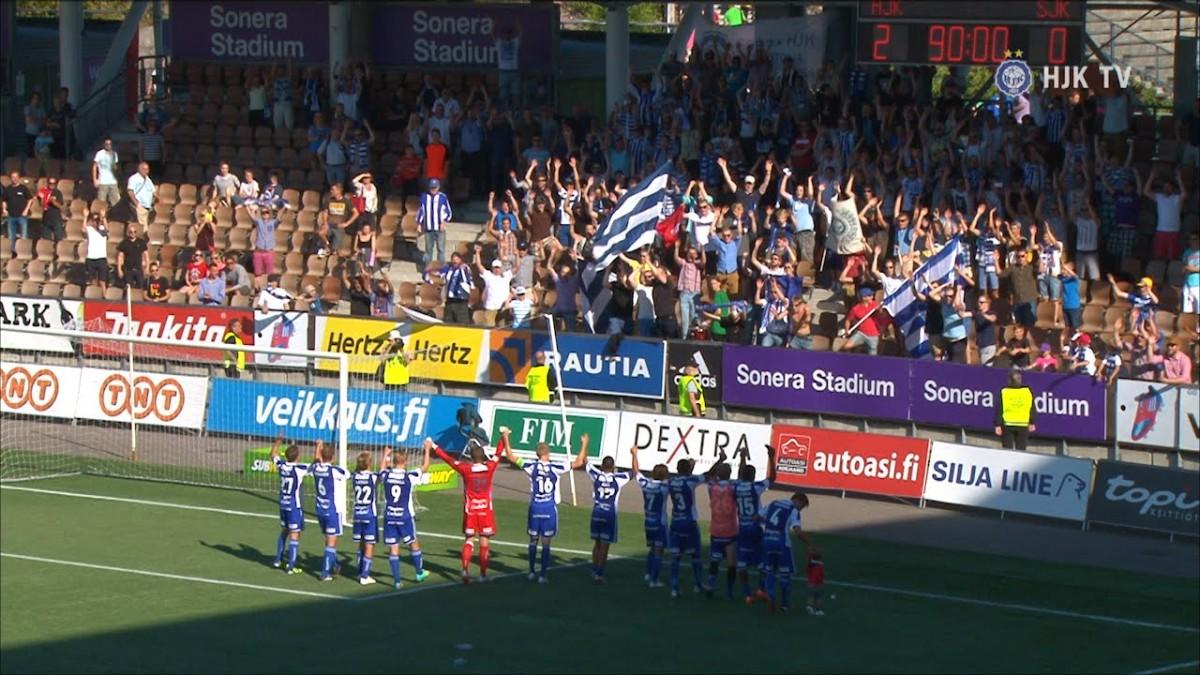 Video: HJK – SJK-ottelun kooste