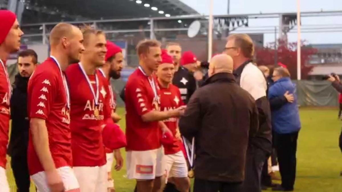 HIFK nousi Veikkausliigaan kauden 2014 päätteeksi.