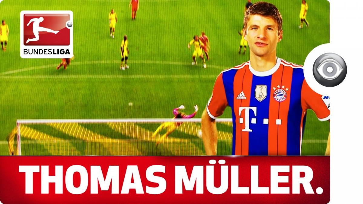 Video: Thomas Müller – Bayern Münchenin soolonyrkki