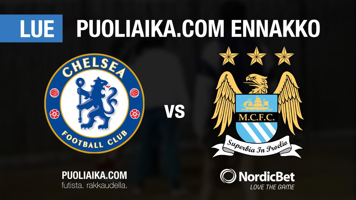 Chelsea Manchester City - Puoliaika.com