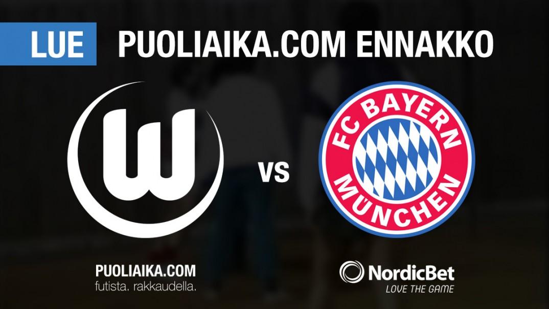 VFL Wolfsburg Bayern München Puoliaika.com