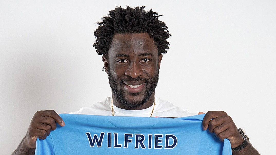 Soccer - Manchester City Sign Wilfried Bony