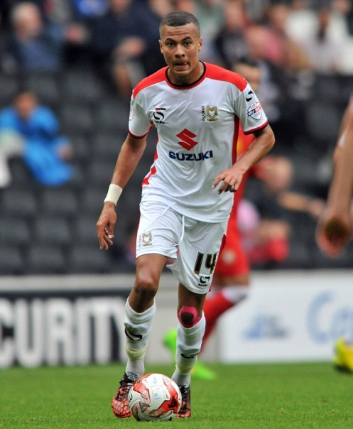 MK Dons man of the match Dele Alli 2014/15