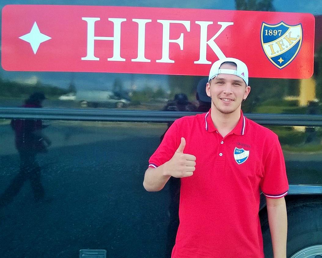 Kastriot Kastrati on HIFK:n uusin pelaajahankinta. Kuva: www.hifkfotboll.fi