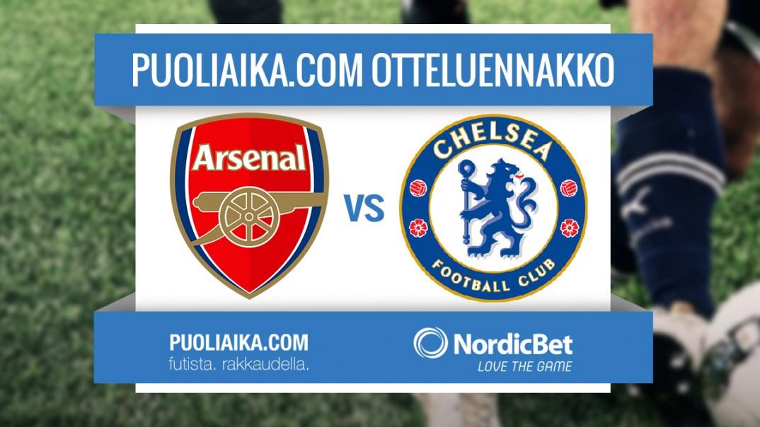 otteluennakko-chelsea-arsenal-jalkapallo-puoliaika.com