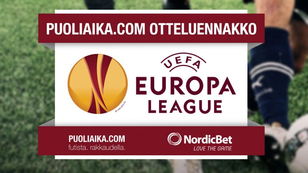 Eurooppa-liigan otteluennakko