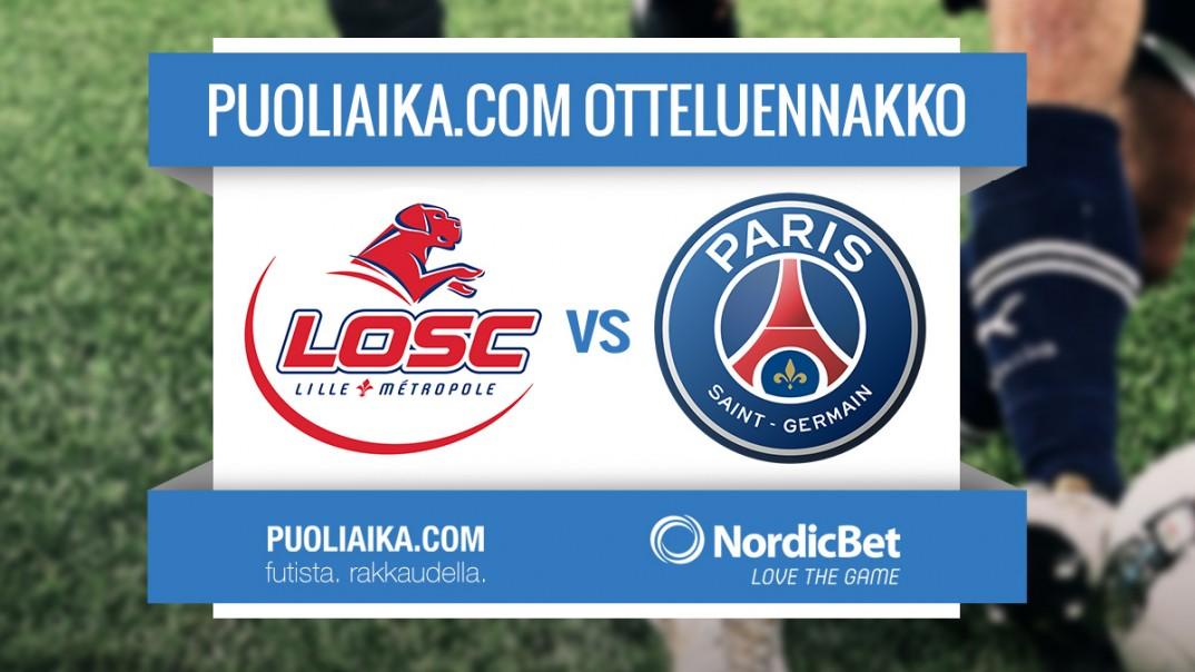 Otteluennakko: Lille - PSG