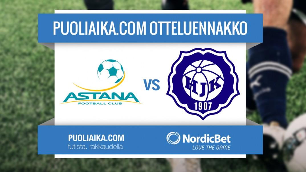 Mestarien Liigan otteluennakko: FC Astana - HJK Helsinki