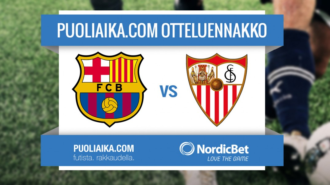 Otteluennakko: FC Barcelona - Sevilla