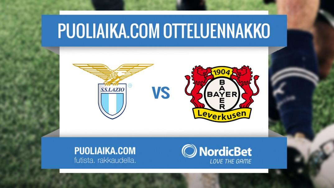 Otteluennakko: Lazio - Bayer Leverkusen