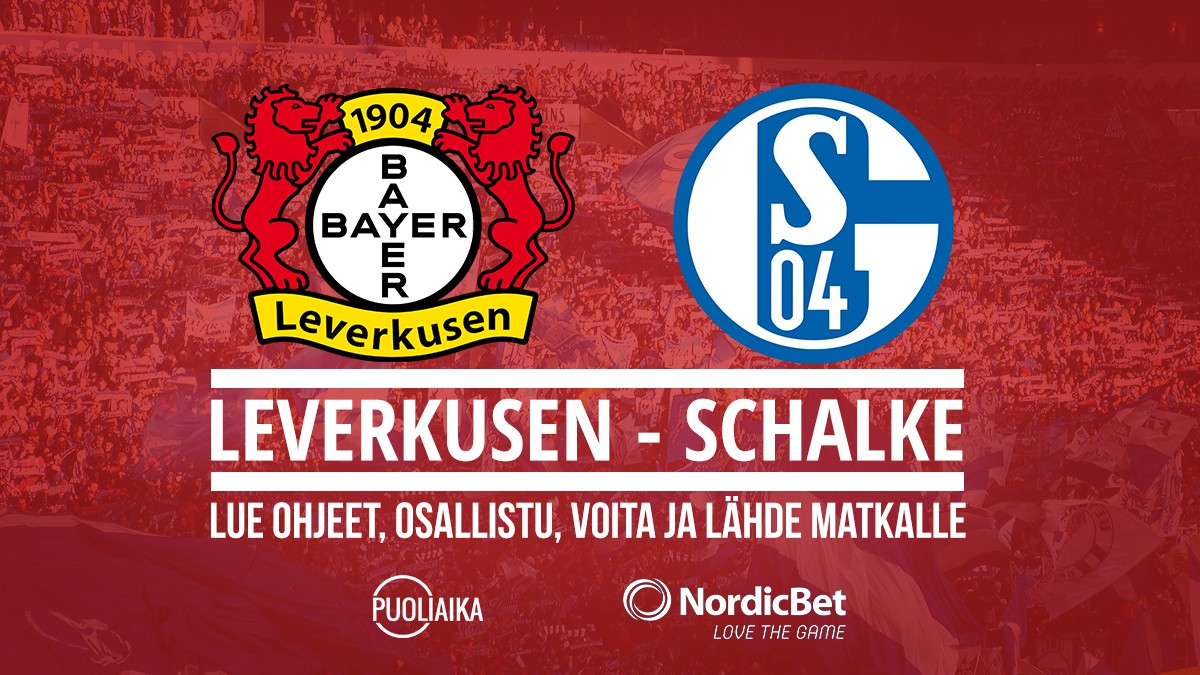 Kilpailu: Bayer Leverkusen - Schalke 04 - Puoliaika.com lukijamatka