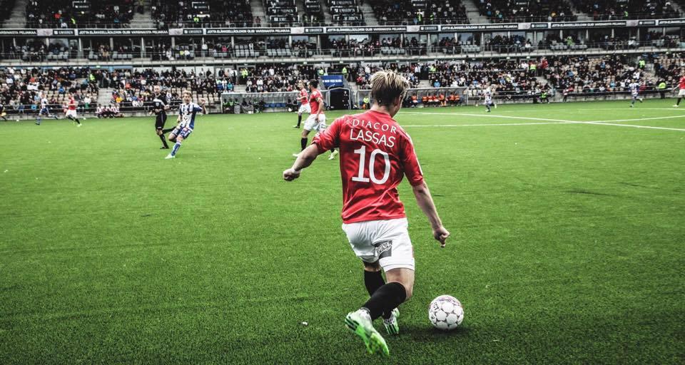 Fredrik Lassas jatkaa IFK:ssa yksivuotisella sopimuksella: Kuva: Jere Nevalainen