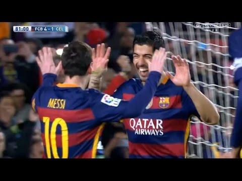 Katso Messin ja Suarezin rankkari, mistä kaikki puhuvat