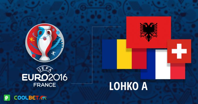 EURO 2016 - A-lohko
