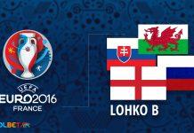 Euro 2016 - B-lohko