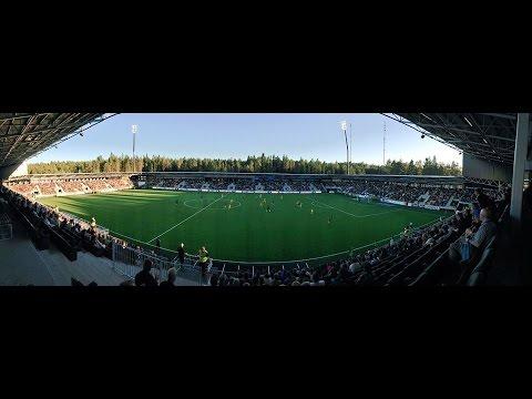 SJK pelaa kotiottelunsa upouudella OmaSP Stadionilla.
