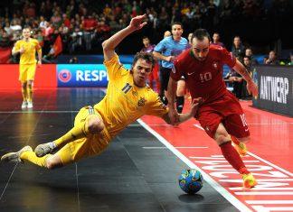 Futsal em-kisat ricardinho puoliaika