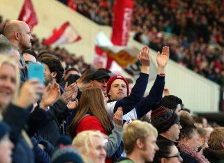 Middlesbrough-kannattajat puoliaika