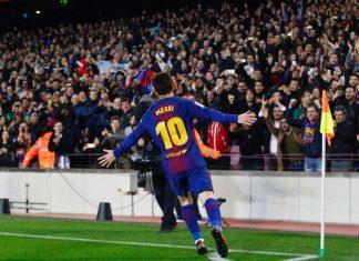 barcelona Copa del Rey Messi Puoliaika Espanjan Cup