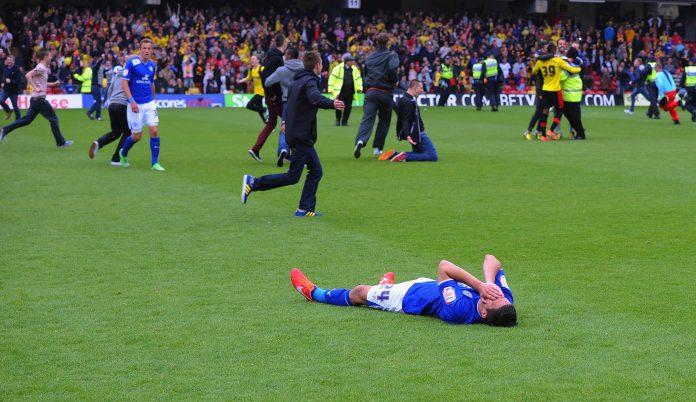 loppuratkaisu Watford v Leicester City loppuhetket puoliaika