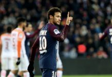 Paris Saint Germain neymar puoliaika