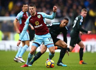 Burnley v Manchester City puoliaika