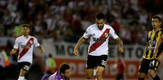 River Plate v Olimpo argentiinan liiga puoliaika