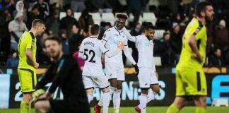 Swansea City v Notts County puoliaika