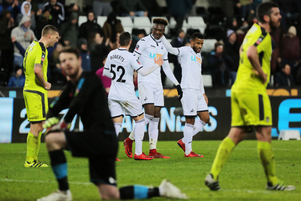 Swansea City v Notts County puoliaika