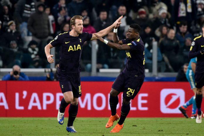 Juventus v Tottenham nousi tasapeliin puoliaika