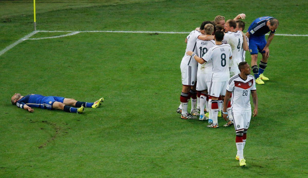 Germany v Argentina jalkapalloselostukset