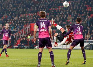 PSV v FC Utrecht öuuk de jong puoliaika