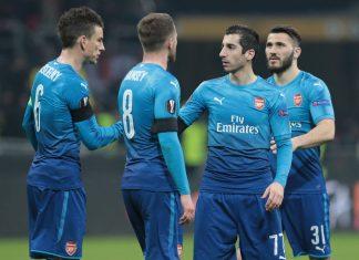 AC Milan v Arsenal puoliaika milanista