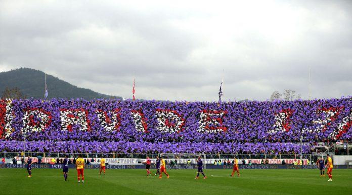 ACF Fiorentina v Benevento tifo davide astorille puoliaika