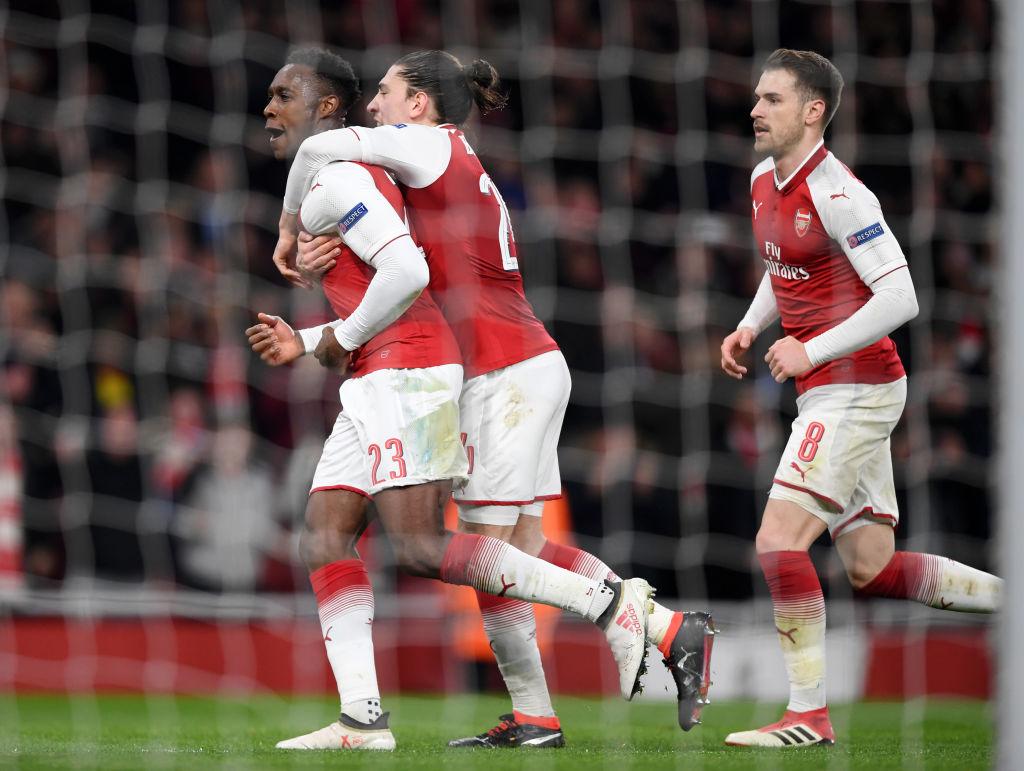Arsenal v AC Milan eurooppa-liigan puoliaika