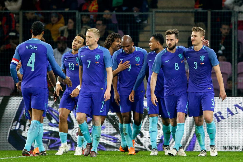 Portugal v Holland hollanti puoliaika