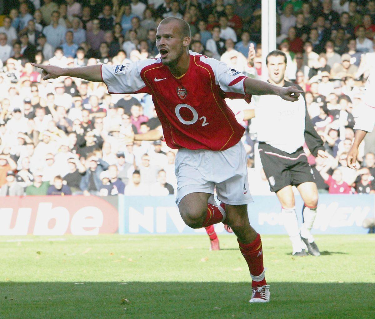 Arsenal Fredrik Ljungberg puoliaika