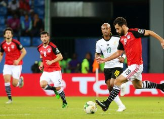 Ghana vs Egypt: Abdalla El Said puoliaika