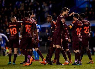 Deportivo La Coruna v Barcelona - La Ligan