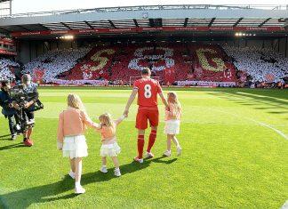 Liverpool v Crystal Palace steven gerrard puoliaika
