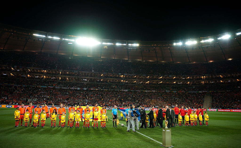 Soccer - 2010 FIFA World Cup South Africa Final - Netherlands v Spain