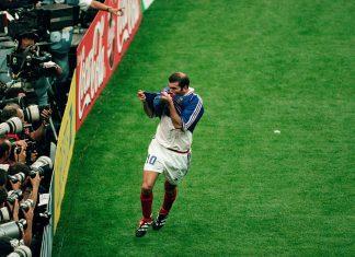 1998 ranskan kisat zidane puoliaika