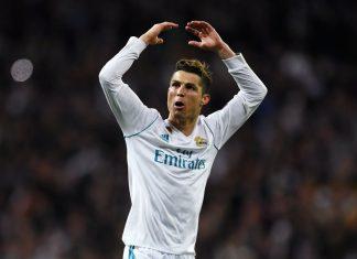 Real Madrid ronaldo puoliaika tiistai-iltana