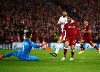 Liverpool v A.S. Roma yrittää kuroa etumatkaa puoliaika