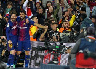 FC Barcelona v Real Madrid osuivat puoliaika