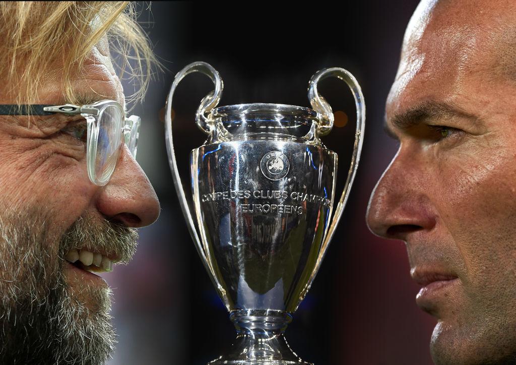 Real Madrid v Liverpool mestarien liigan finaali ukrainassa